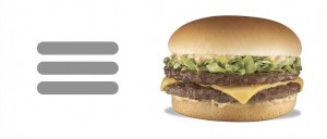 hamburger ui element