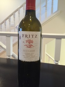 2013 Fritz Estate Grown Zin